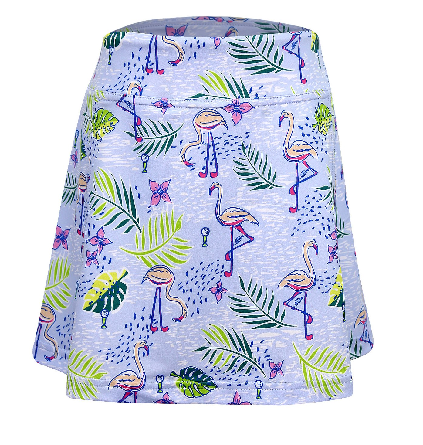 Krissy Golf and Tennis Skort w/Back Pleats Flamingo Club